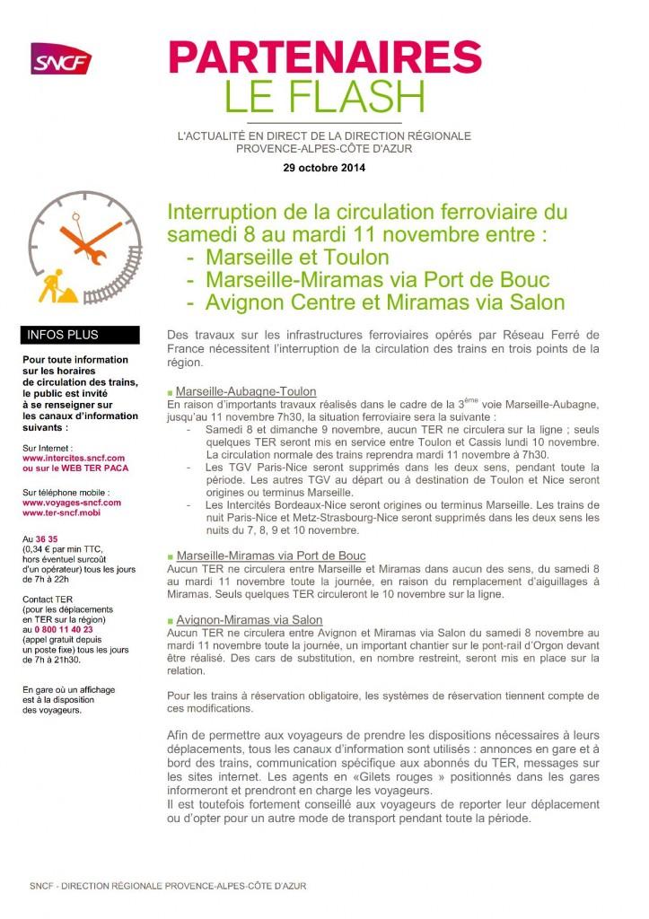 b41029 Partenaires Le Flash 2014 - 29 octobre 2014