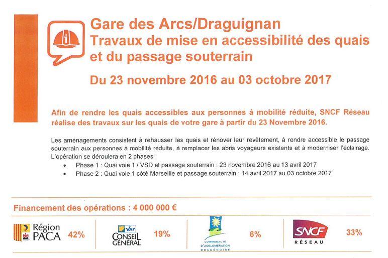 b61214 Travaux Gare des Arcs 1