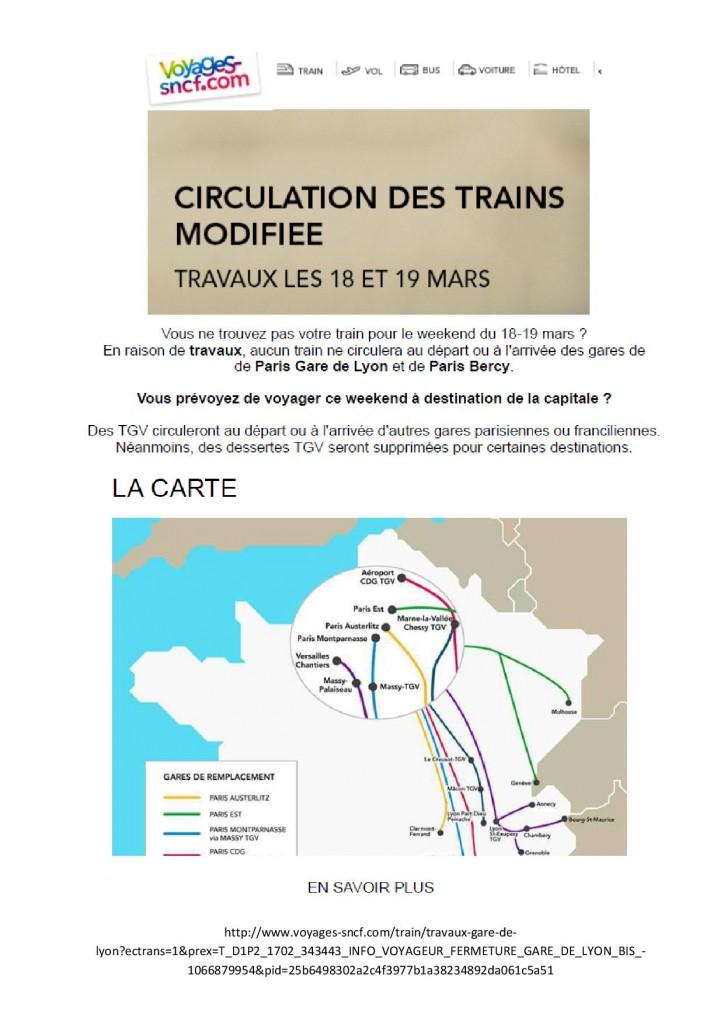 b70318 SNCF Fermeture gare de Paris Lyon